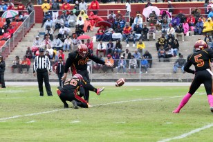 Kicker Dalton Hall. (Tuskegee University Athletics)
