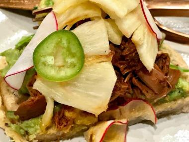 The initial menu at El ZunZun is inspired by the food and drink of Jalisco and Oaxaca, Mexico. (Susan Swagler / Alabama NewsCenter)