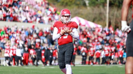 In returning quarterback Harry Satterwhite, this year's West Alabama team has last year's Small College Player of the Year, according to the Alabama Sports Writers Association. (West Alabama Athletics)