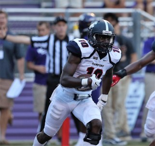 Safety Koi Freeman is a likely standout on the Samford defense, Coach Chris Hatcher says. (Samford University Athletics)