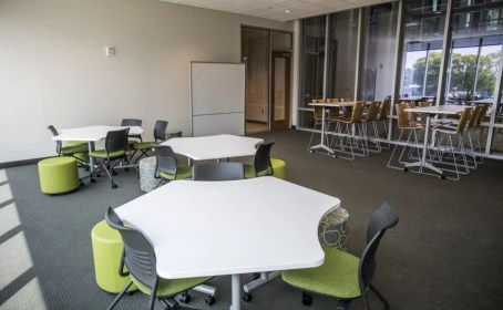 State-of-the-art classrooms await students. (Adam Pope/UAB)