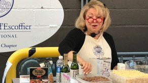 Chef Sherron Goldstein of Fresh Fields Cooking was a participant at the the Les Dames d'Escoffier takeover at the Market at Pepper Place in September 2018. (contributed)