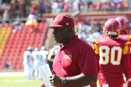 Coach Willie Slater has an impressive record in 10 years at Tuskegee University. (Tuskegee University Athletics)