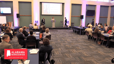 A two-day Smart Cities Readiness Workshop kicked off at Birmingham CrossPlex today. (Dennis Washington / Alabama NewsCenter)