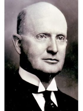 Industrialist, engineer, and inventor Erskine Ramsay (1864-1953) greatly influenced the coal mining and iron production industries in Alabama during the late nineteenth and early twentieth centuries. Ramsay also was active in politics and through his philanthropy supported educational development in the state. (From Encyclopedia of Alabama, Birmingham Public Library Archives)