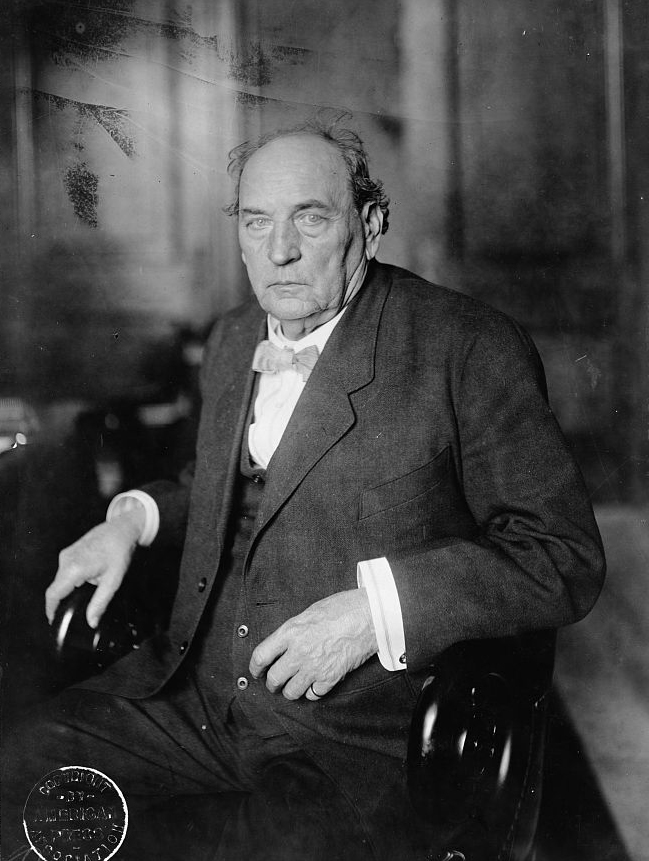 Portrait of John Hollis Bankhead, c. 1911. (Library of Congress Prints and Photographs Division)