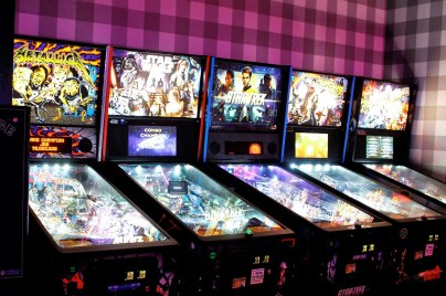 The Woolworth has a lot of game options, including pinball. (Dennis Washington/Alabama NewsCenter)