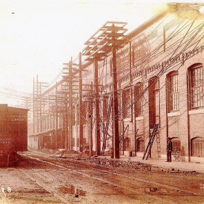 Historic photos of Powell Avenue Steam Plant. (file)