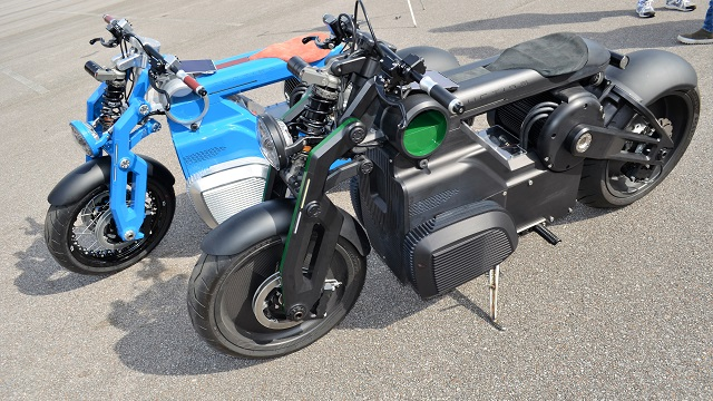 Birmingham's Curtiss Motorcycles aims to be market leader in electric motorcycles
