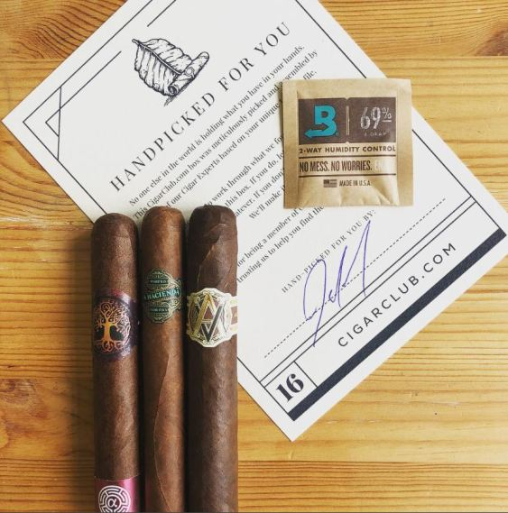 Mobile's Cigar Club selects and provides premium cigars by subscription. (CigarClub)