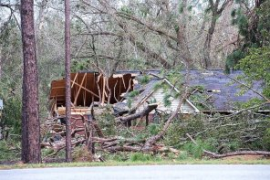 A look at part of the devastation left behind by the storm that ripped the Dothan area. (Wynter Byrd)