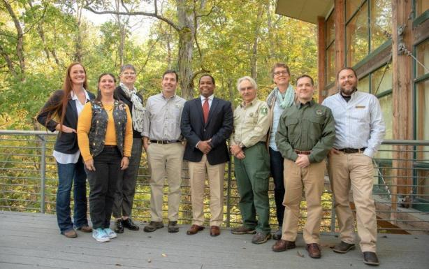 A public-private partnership is supporting the fight against white-nose syndrome in bats at Ruffner Mountain Nature Preserve in Birmingham. (Dennis Washington / Alabama NewsCenter)