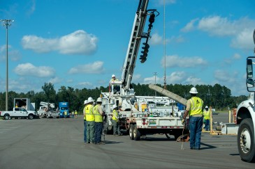 Alabama Power crews help in the restoration efforts following Hurricane Michael's devastating blow. (file)