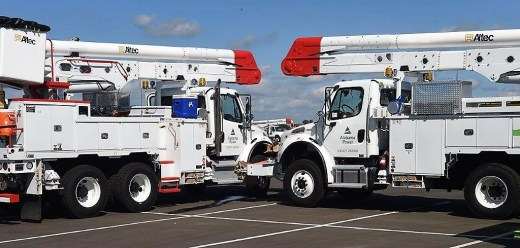 Alabama Power crews have restored service to customers in Alabama and are now assisting in Florida and Georgia where Hurricane Michael created widespread outages and infrastructure damage. (Wynter Byrd / Alabama NewsCenter)