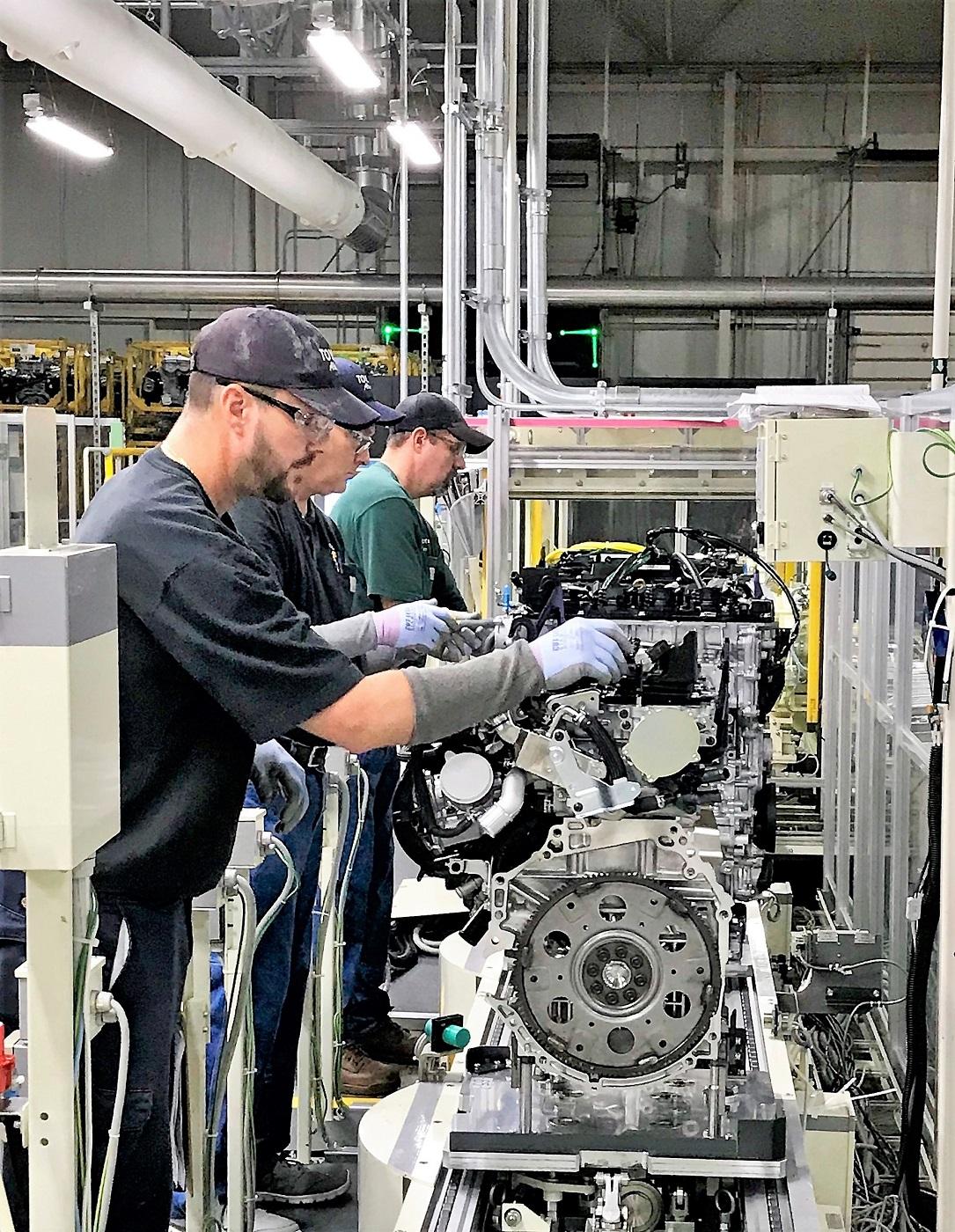 Milestone Toyota Alabama Plant Produces First Next Gen