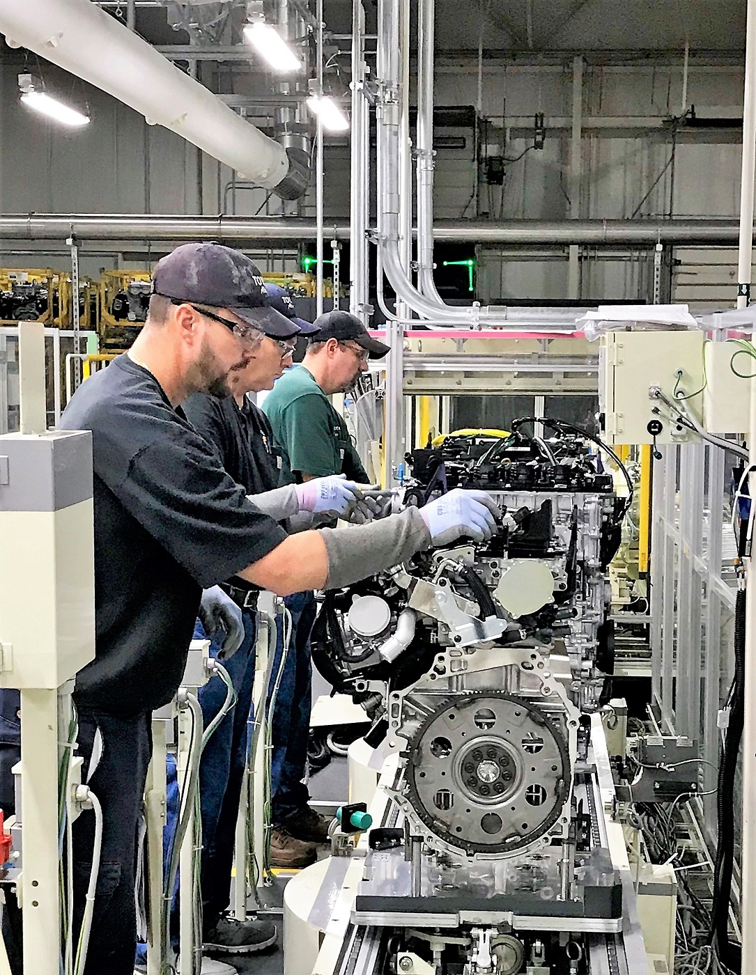 A $106 Million Project To Replace The Four Cylinder Engine Line At Toyota  Motor Manufacturing