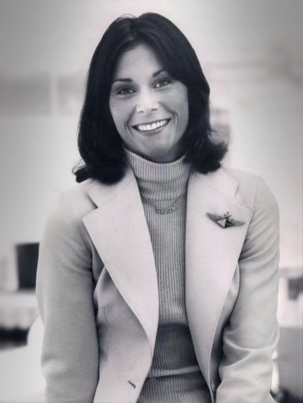"Studio photo of actress Kate Jackson from the television program ""Charlie's Angels,"" Dec. 7, 1976. (ABC Television, Wikipedia)"