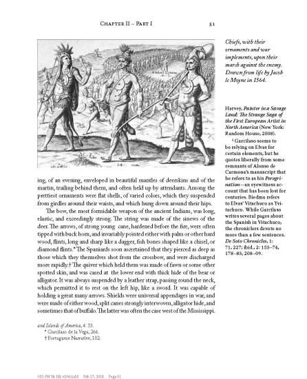 Examples of annotations in the 2018 edition of Pickett's History of Alabama. (NewSouth Books)