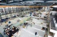 Airbus began assembling A320 Family aircraft at its Mobile production center in 2015. (Airbus)