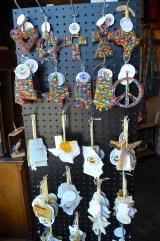 These ornaments were made by African artists. (Karim Shamsi-Basha/Alabama NewsCenter)