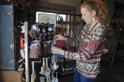 The sale of Ornaments 4 Orphans at Kanzi in Homewood helps African children. (Karim Shamsi-Basha/Alabama NewsCenter)