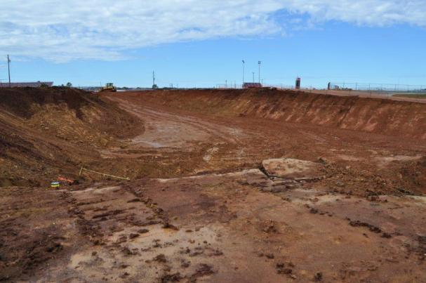 The big hole in the Talladega Superspeedway is all part of the Transformation at the track. (contributed)
