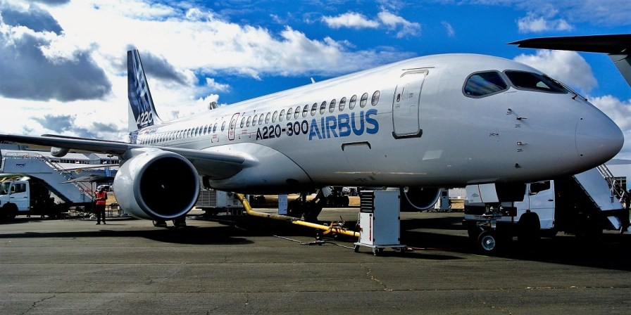 Production of A220 aircraft at the Airbus facility in Mobile will begin next year. (Airbus)