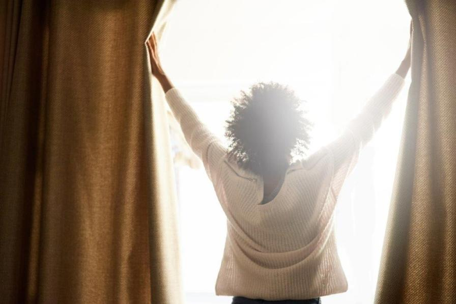 Open those drapes and blinds and let the sun be your home-heating friend. (Getty Images)