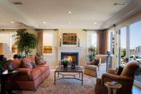Fireplaces may be nice for ambiance, but they are not great for heating large rooms. (Getty Images)