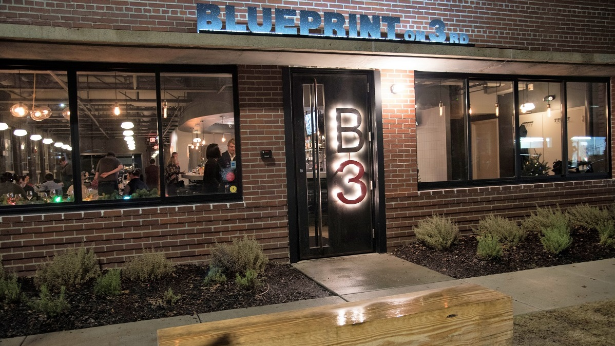 Designing delicious dining at Birmingham's Blueprint On 3rd