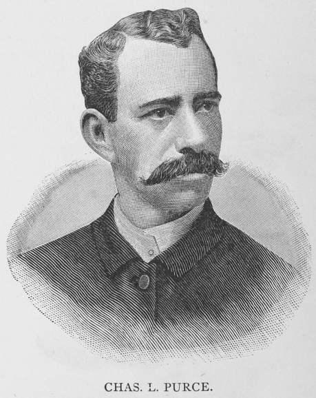 Charles Purce, 1887. Purce was president of Selma University from 1886-1894 (William J. Simmons, Wikipedia)