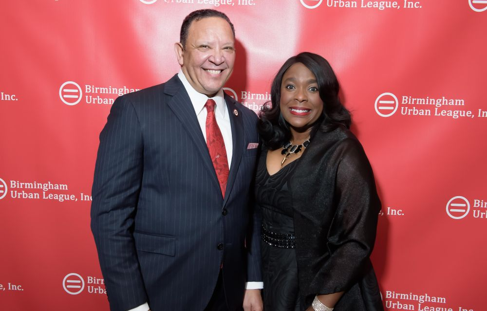 National Urban League President Marc Morial was the keynote speaker. He's joined by congresswoman Terri Sewell. (Jerome Smedley)