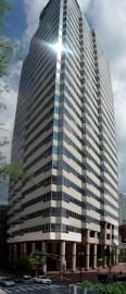 The Nashville City Center building was designed by Hugh Stubbins in 1988. (Jice99, Wikipedia)