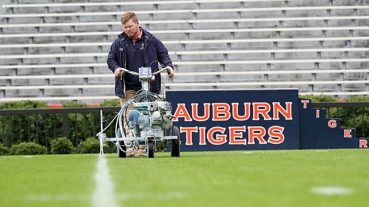 Super Bowl bound: Auburn junior to train under legendary sports field groundskeepers