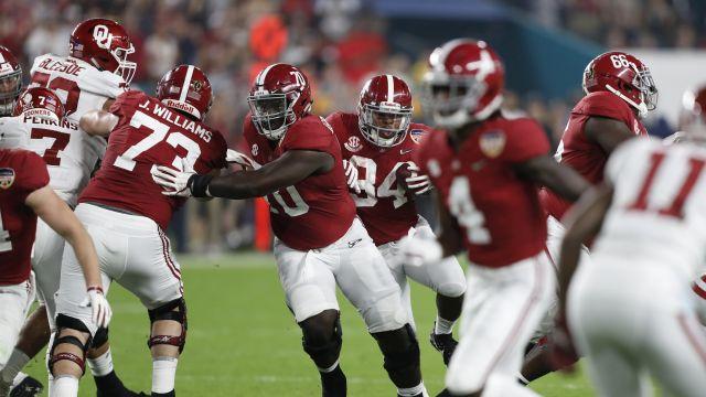 It's Alabama Crimson Tide vs. Clemson Tigers in College Football Playoff championship