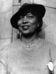 """Alabama native Zora Neale Hurston (1891-1960) was a writer, folklorist and member of the Harlem Renaissance of the early 20th century. She is best known for her novels, such as """"Their Eyes Were Watching God,"""" published in 1937. (From Encyclopedia of Alabama, courtesy of Library of Congress)"""