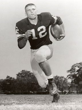 """Jackson County native Pat Trammell (1940-1968) was an All-American quarterback for coach Paul """"Bear"""" Bryant's University of Alabama football team from 1958-61, leading the Crimson Tide to a record of 26-3-4 and the 1961 national championship. (From Encyclopedia of Alabama, courtesy of Paul W. Bryant Museum, University of Alabama)"""