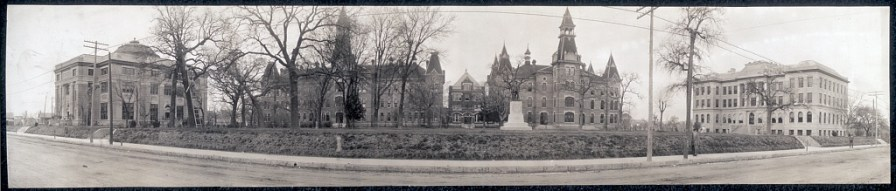 Baylor University, Waco, Texas, c. 1910. (Library of Congress, Prints and Photographs Division)
