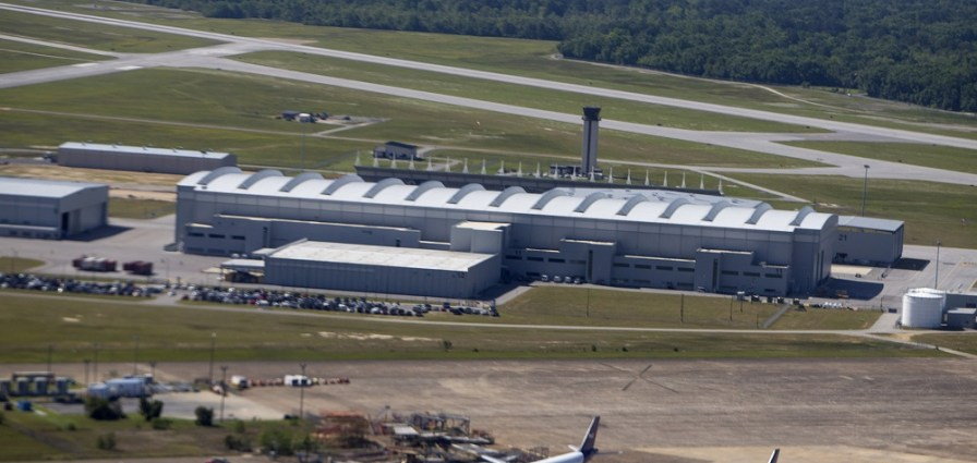Airbus will build a new A220 assembly line next to the current A320 family production center in Mobile.