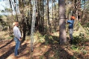 Master Rack Lodge offers hunting for amateurs and families as well as longtime hunters. (Brittany Faush/Alabama NewsCenter)