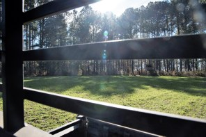 The hunting grounds at Master Rack Lodge. (Brittany Faush/Alabama NewsCenter)