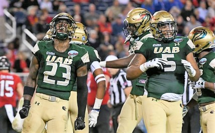 This season, the UAB Blazers finished 11-3; captured their first C-USA championship and first division title; made their first back-to-back bowl trips; and won their first bowl game. (UAB)