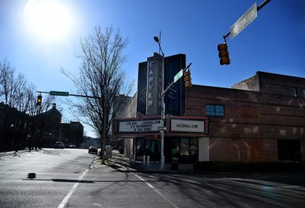 The Carver Theater is shown in the 4th Avenue District. (Mark Almond)