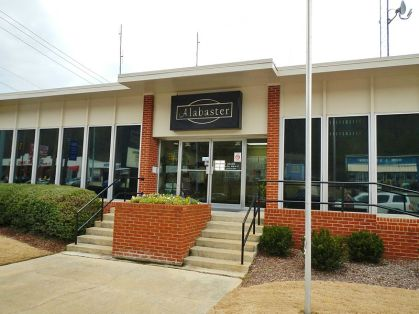 Alabaster City Hall, 2012. (Rivers Langley, Save Rivers, Wikipedia)