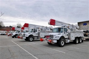 In Pittsburgh, Alabama Power crews worked shoulder-to-shoulder with crews from Duquesne Light Co. (Duquesne Light Co.)