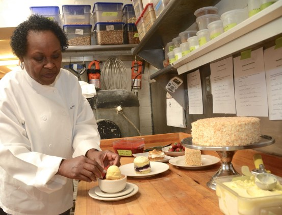 Dolester Miles was one of the original employees of Highlands Bar & Grill in 1982, but, as hard as it is to imagine, she didn't start out making the desserts. (file)