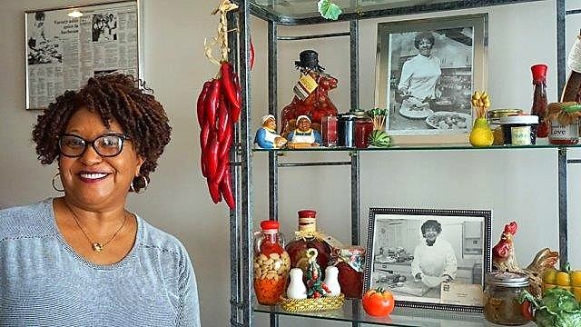 Carolyn Williams is proud of the legacy her mother, Vera Beck, left as a cook and as a mother and grandmother. (Erin Harney / Alabama NewsCenter)