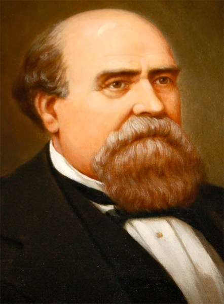 George S. Houston was the first Democratic governor elected after the Republican-dominated Reconstruction era. In addition to holding the governor's office, Houston represented Alabama in the U.S. Congress from 1841 to 1861. (From Encyclopedia of Alabama, courtesy of Alabama Department of Archives and History)