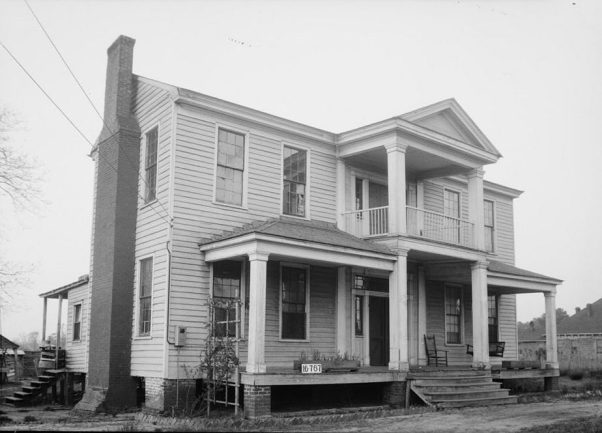 Andrew Barry Moore House in Marion, 1934. (W.N. Manning, Library of Congress, Prints and Photographs Division)