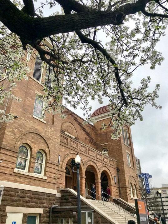 Birmingham's 16th Street Baptist Church. (Justin Averette/Alabama NewsCenter)